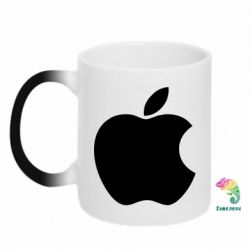 Кружка-хамелеон Apple Corp. - FatLine