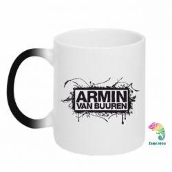 Кружка-хамелеон Armin Van Buuren - FatLine