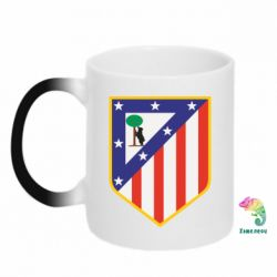 Кружка-хамелеон Atletico Madrid