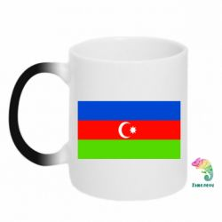 Кружка-хамелеон Азербайджан - FatLine