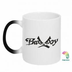 Кружка-хамелеон Bad Boy Logo