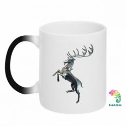 Кружка-хамелеон Baratheon Metal Logo