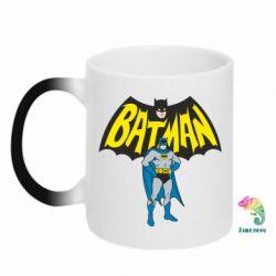 Кружка-хамелеон Batman Hero - FatLine