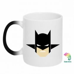 "Кружка-хамелеон Batman ""Minimalism"" - FatLine"