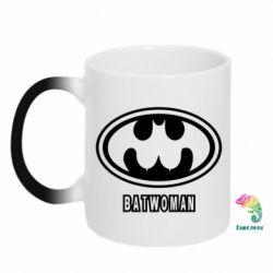 Кружка-хамелеон Batwoman - FatLine