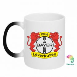 Кружка-хамелеон Bayer Leverkusen - FatLine
