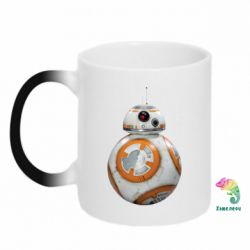 Кружка-хамелеон BB-8 - FatLine