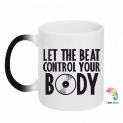 Кружка-хамелеон Beat control your body - FatLine