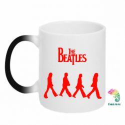Кружка-хамелеон Beatles Group