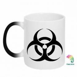Кружка-хамелеон biohazard - FatLine