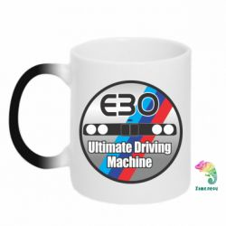 Кружка-хамелеон BMW E30 Ultimate Driving Machine