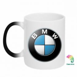 Кружка-хамелеон BMW Small Logo