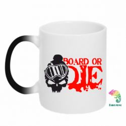 Кружка-хамелеон Board or Die