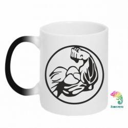 Кружка-хамелеон Бодібілдинг - FatLine
