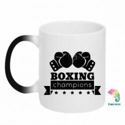 Кружка-хамелеон Boxing Champions - FatLine