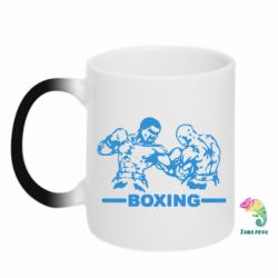 Кружка-хамелеон Boxing Fighters