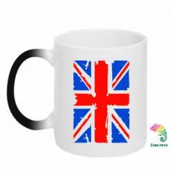 Купить Кружка-хамелеон Британский флаг, FatLine