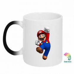Кружка-хамелеон Brother Mario - FatLine