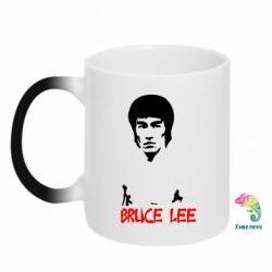 Кружка-хамелеон Bruce Lee
