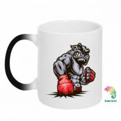 Кружка-хамелеон Bulldog MMA - FatLine