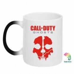 Кружка-хамелеон Call of Duty Ghosts