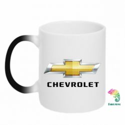 Кружка-хамелеон Chevrolet Logo - FatLine