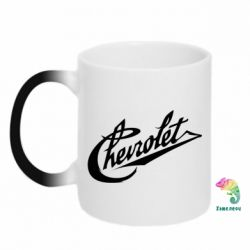 Кружка-хамелеон Chevrolet Old Logo - FatLine
