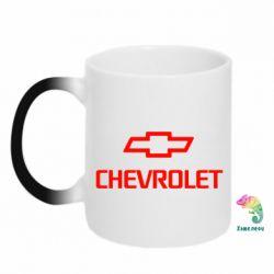 Кружка-хамелеон Chevrolet Small
