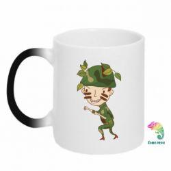 Кружка-хамелеон Cміливий солдат