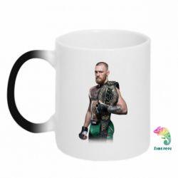Кружка-хамелеон Conor McGregor Belt - FatLine