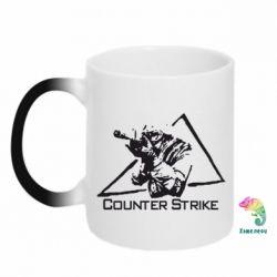 Кружка-хамелеон Counter Strike Gamer - FatLine