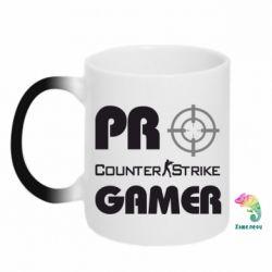 Кружка-хамелеон Counter Strike Pro Gamer - FatLine