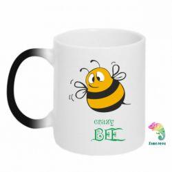 Кружка-хамелеон Crazy Bee