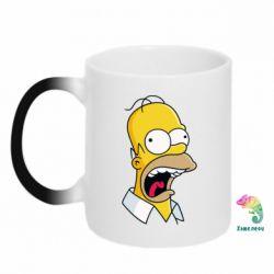 Кружка-хамелеон Crazy Homer! - FatLine