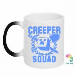 Кружка-хамелеон Creeper Squad - FatLine