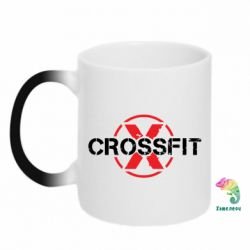 Кружка-хамелеон CrossFit X - FatLine