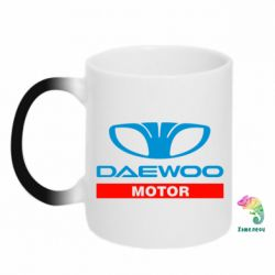 Кружка-хамелеон Daewoo Motors - FatLine