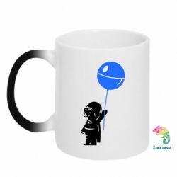 Кружка-хамелеон Дарт Вейдер с шариком - FatLine