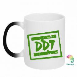 Кружка-хамелеон DDT (ДДТ) - FatLine