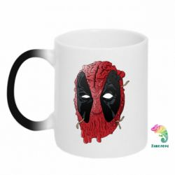 Кружка-хамелеон Deadpool Art - FatLine