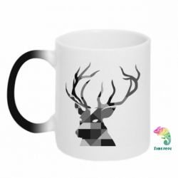 Кружка-хамелеон Deer Art - FatLine