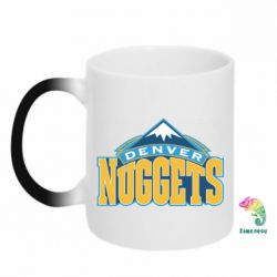 Кружка-хамелеон Denver Nuggets