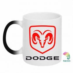 Кружка-хамелеон DODGE
