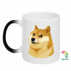 Кружка-хамелеон Doge - FatLine