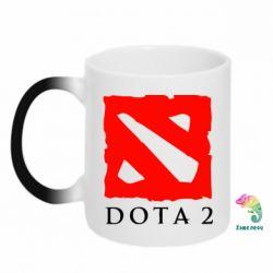 Кружка-хамелеон Dota 2 Big Logo