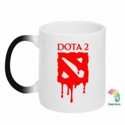 Кружка-хамелеон Dota 2 Logo - FatLine
