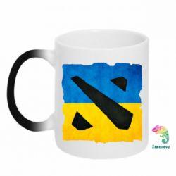 Кружка-хамелеон Dota 2 Ukraine Team - FatLine