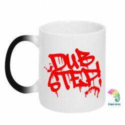 Кружка-хамелеон Dub Step Граффити