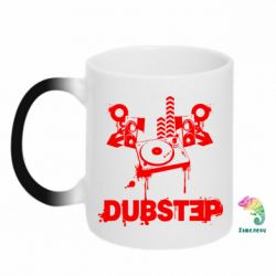 Кружка-хамелеон Dub Step Mix