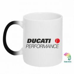 Кружка-хамелеон Ducati Perfomance - FatLine